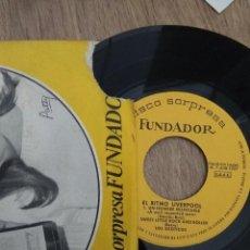 Discos de vinilo: EP LOS EXÓTICOS EL RITMO DE LIVERPOOL BUEN ESTADO . Lote 115573055