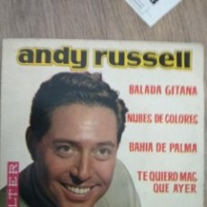 Discos de vinilo: EP ANDY RUSSELL BALADA GITANA BUEN ESTADO. Lote 115573103