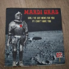 Discos de vinilo: SINGLE MARDI GRAS GIRO I'VE GOT NEWS FOTO YOU BUEN ESTADO. Lote 115571607