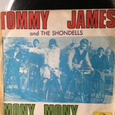Discos de vinilo: TOMMY JAMES AND THE SHONDELLS-MONY,MONY-1968. Lote 115575891