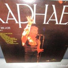 Discos de vinilo: RAPHAEL LO MEJOR VOL. 2 AVE MARIA - QUIERO UN AMANTE - EL CANTOR - PERFIDIA - LP EDICION U.S.A. . Lote 115579911