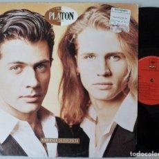 Discos de vinilo: PLATON - PERDIENDO LA INOCENCIA (LP CBS/SONY 1992). Lote 115584031
