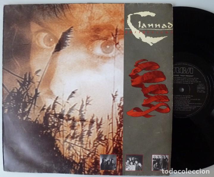 CLANNAD - PASTPRESENT (LP BMG-ARIOLA 1989 ESPAÑA) (Música - Discos - LP Vinilo - Pop - Rock - New Wave Extranjero de los 80)