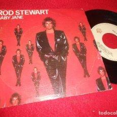 Discos de vinilo: ROD STEWART BABY JANE /READY NOW 7'' SINGLE 1983 WARNER BROS ESPAÑA SPAIN. Lote 115588803