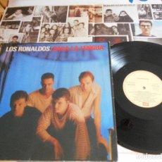 Discos de vinilo: LOS RONALDOS-SACA LA LENGUA-LP-ENCARTE LETRAS. Lote 115589367