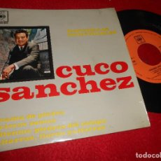 Discos de vinilo: CUCO SANCHEZ LA CAMA DE PIEDRA/ARRIEROS/GRITENME PIEDRAS DEL CAMPO/+1 7'' EP 1963 CBS ESPAÑA SPAIN. Lote 115590323