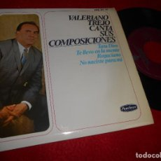 Discos de vinilo: VALERIANO TREJO TATA DIOS/TE LLEVO EN LA MENTE/ROGACIAN/+1 7'' EP 1966 PEERLESS ESPAÑA SPAIN. Lote 115591035