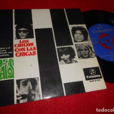 Discos de vinilo: LOS BRAVOS TE QUIERO ASI/YOU'LL NEVER GET THE CHANCE AGAIN/+2 7'' EP 1967 COLUMBIA ESPAÑA SPAIN. Lote 115591355