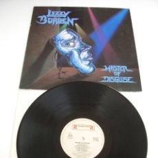 Discos de vinilo: LIZZY BORDEN - MASTER OF DISGUISE. Lote 115592823