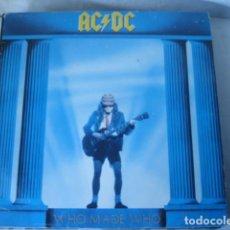 Discos de vinilo: AC/DC WHO MADE WHO . Lote 115602699