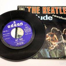 Discos de vinilo: THE BEATLES - HEY JUDE - REVOLUTION - ODEN - 1968. Lote 115604551