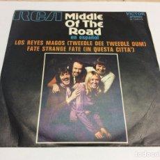 Discos de vinilo: MIDDLE OF THE ROAD EN ESPAÑOL MUY BIEN CONSERVADO. Lote 115604599
