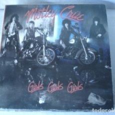 Discos de vinilo: MÖTLEY CRÜE  GIRLS, GIRLS, GIRLS . Lote 115606307
