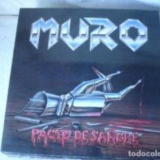 Discos de vinilo: MURO PACTO DE SANGRE . Lote 115607667