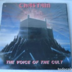 Discos de vinilo: CHASTAIN THE VOICE OF THE CULT . Lote 115618135