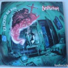 Discos de vinilo: DESTRUCTION CRACKED BRAIN . Lote 115618443