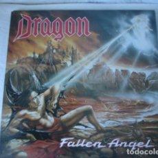 Discos de vinilo: DRAGON FALLEN ANGEL . Lote 115618759