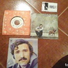 Discos de vinilo: LOTE DE 3 SINGLES DE CARLOS MATEO ( O LENTO CAMINAR , HISTORIA DE UN AMOR, O LENTO CAMINAR PROMO). Lote 115620527