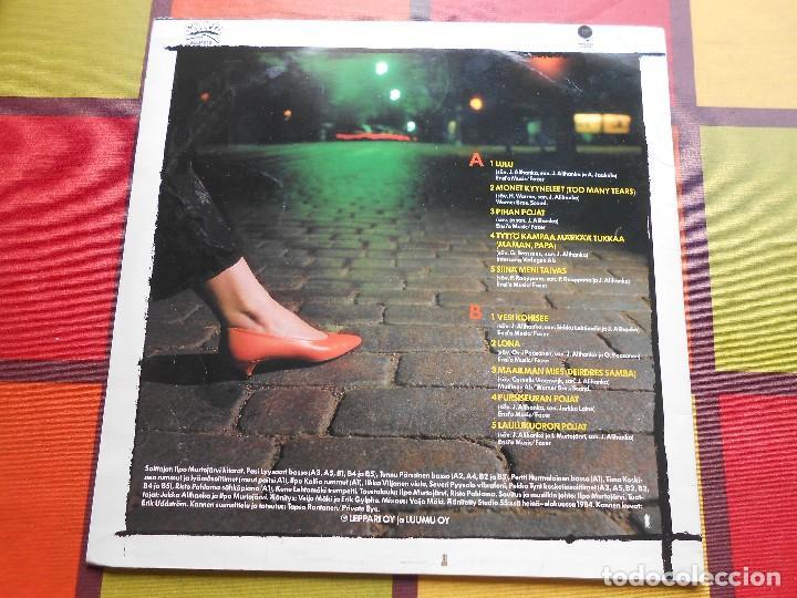 Discos de vinilo: DISCO DE TUULA AMBERLA-LULU. - Foto 2 - 115620571