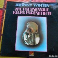 Discos de vinilo: DISCO DE JOHNNY WINTER - THE PROGRESSIVE BLUES EXPERIMENT .. Lote 115621431