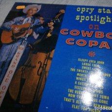 Discos de vinilo: COWBOY COPAS COUNTRY HILBILLY ROCKABILLY. Lote 115626283