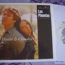 Disques de vinyle: LOS PLANETAS SG 7'' DAVID Y CLAUDIA ED. LIMIT Y AGOTADA SUBTERFUGE 2015 NUEVO Y PRECINTADO. Lote 272433853