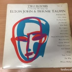 Discos de vinilo: ELTON JOHN TWO ROOMS LP. Lote 115651611