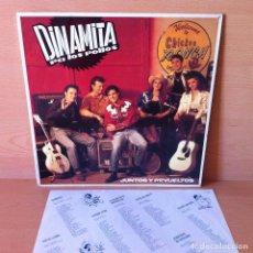 Discos de vinilo: DINAMITA PA LOS POLLOS 1992 JUNTOS Y REVUELTOS - LP GRABACIONES ACCIDENTALES GASA. Lote 115654271
