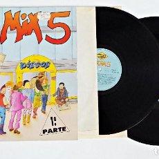 Discos de vinilo: DISCO DE VINILO LP DOBLE MAX MIX 5 1ª PARTE.1987.. Lote 115685983