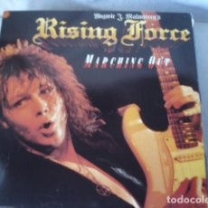 Discos de vinilo: YNGWIE J. MALMSTEEN'S RISING FORCE MARCHING OUT . Lote 115688859