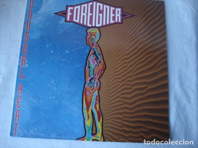 FOREIGNER UNUSUAL HEAT (Música - Discos - LP Vinilo - Heavy - Metal)
