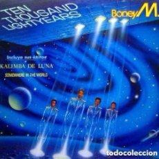 Discos de vinilo: BONEY M. – 10.000 LIGHTYEARS - LP SPAIN 1984. Lote 115693727