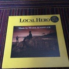 Discos de vinilo: MARK KNOPFLER : BSO LOCAL HERO . Lote 115694023