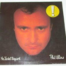Discos de vinilo: PHIL COLLINS - NO JACKET REQUIRED - 1985 WEA GERMANY. Lote 115695795