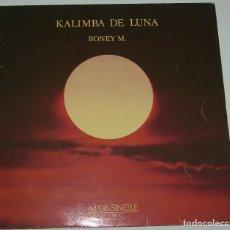 Discos de vinilo: BONEY M. KALIMBA DE LUNA - MAXI-SINGLE SPAIN 1984. Lote 115695999