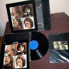 Discos de vinilo: BEATLES CAJA LET IT BE ORIGINAL EPOCA AÑOS 70 ESPAÑA COMPLETA COLECCION SOUNDTRACK RARA. Lote 115696131