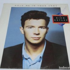 Discos de vinilo: LP - RICK ASTLEY - HOLD ME IN YOUR ARMS - 1988. Lote 115696819