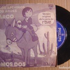 Discos de vinilo: MARCO - SOMOS DOS - SINGLE 1976 - PHILIPS. Lote 115697459