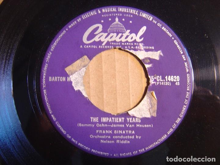 FRANK SINATRA – LOVE AND MARRIAGE - THE IMPATIENT YEARS - SINGLE UK - CAPITOL (Música - Discos - Singles Vinilo - Jazz, Jazz-Rock, Blues y R&B)