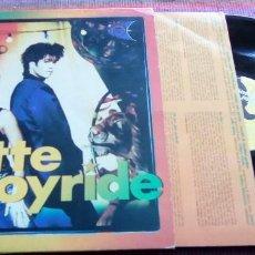 Discos de vinilo: ROXETTE (JOYRIDE) LP SPAIN 1991 ENCARTE LETRAS. Lote 115711479