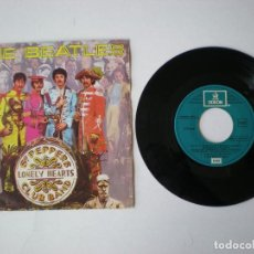 Discos de vinilo: THE BEATLES - SERGEANT PEPPER'S LONELY + 1 - ODEON-EMI C006-006804. Lote 115711575