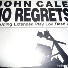 Discos de vinilo: JOHN CALE-NO REGRETS. Lote 115711883
