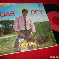 Discos de vinilo: LUIS GARDEY COMO UN HOMBRE/MIRA 7'' SINGLE 1967 ZAFIRO. Lote 115716107