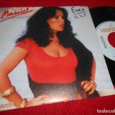 Discos de vinilo: MASSIEL ERES/DE 7 A 9 7'' SINGLE 1981 HISPAVOX. Lote 115716447
