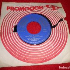 Discos de vinilo: ISMAEL A SOLAS SOY ALGUIEN/MUERTO DE AMOR 7'' SINGLE 1969 PENELOPE-DISCOS. Lote 115719399