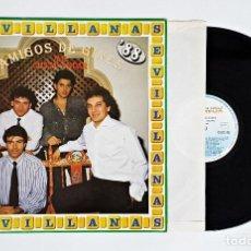 Discos de vinilo: DISCO DE VINILO LP AMIGOS DE GINES ME GUSTA ANDAR SEVILLANAS.. Lote 115721819