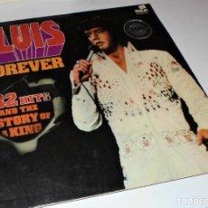 Discos de vinilo: ELVIS PRESLEY - FOREVER / 32 HITS.- GATEFOLD 2 LP. Lote 115724983