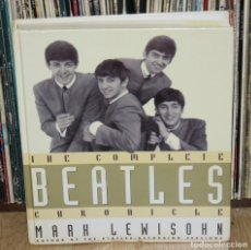 Discos de vinilo: THE COMPLETE BEATLES CHRONICLE 1992 UK BOOK BY MARK LEWISOHN HARDCOVER LIBRO INGLÉS. Lote 115733695