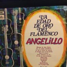 Discos de vinilo: LA EDAD DE ORO DEL FLAMENCO VOL II-ANGELILLO-1970. Lote 117698287