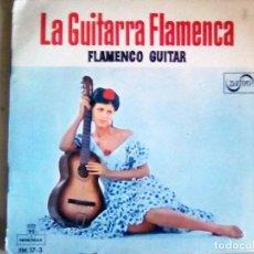 Discos de vinilo: MAXI SINGLE-LA GUITARRA FLAMENCA - FLAMENCO GUITAR. MONTILLA. 6 TEMAS. CARPETA ABIERTA.AÑO 1962. Lote 115748787